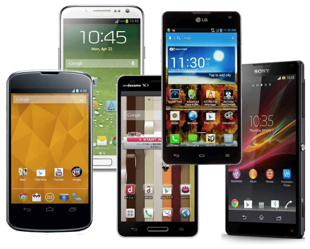 Variety-of-Android-Phones1