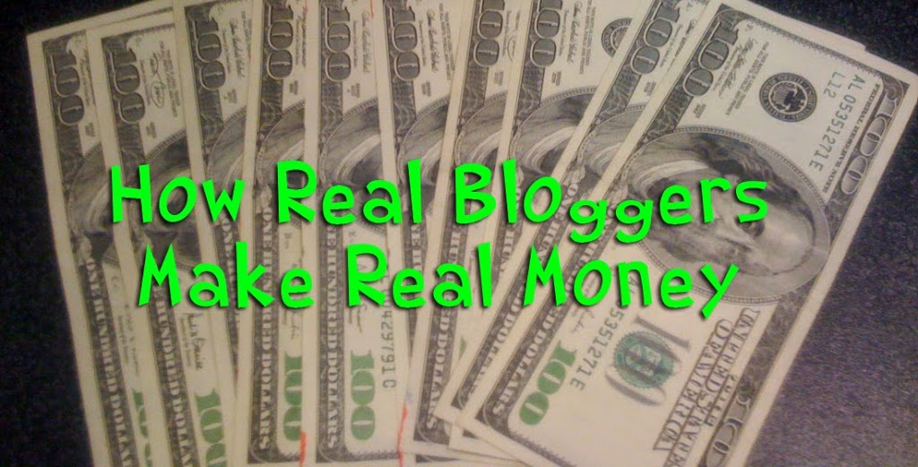 How real bloggers make money