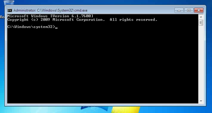 Windows 7 CMD Window Pops Up
