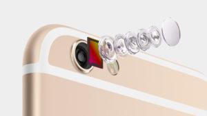 iPhone6 has an 8MP iSight camera, 1.5µ pixels, ƒ/2.2 aperture. And an all-new sensor.