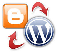 blogger to wordpress trasformation