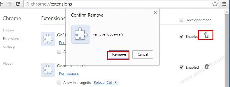 gosave ads virus