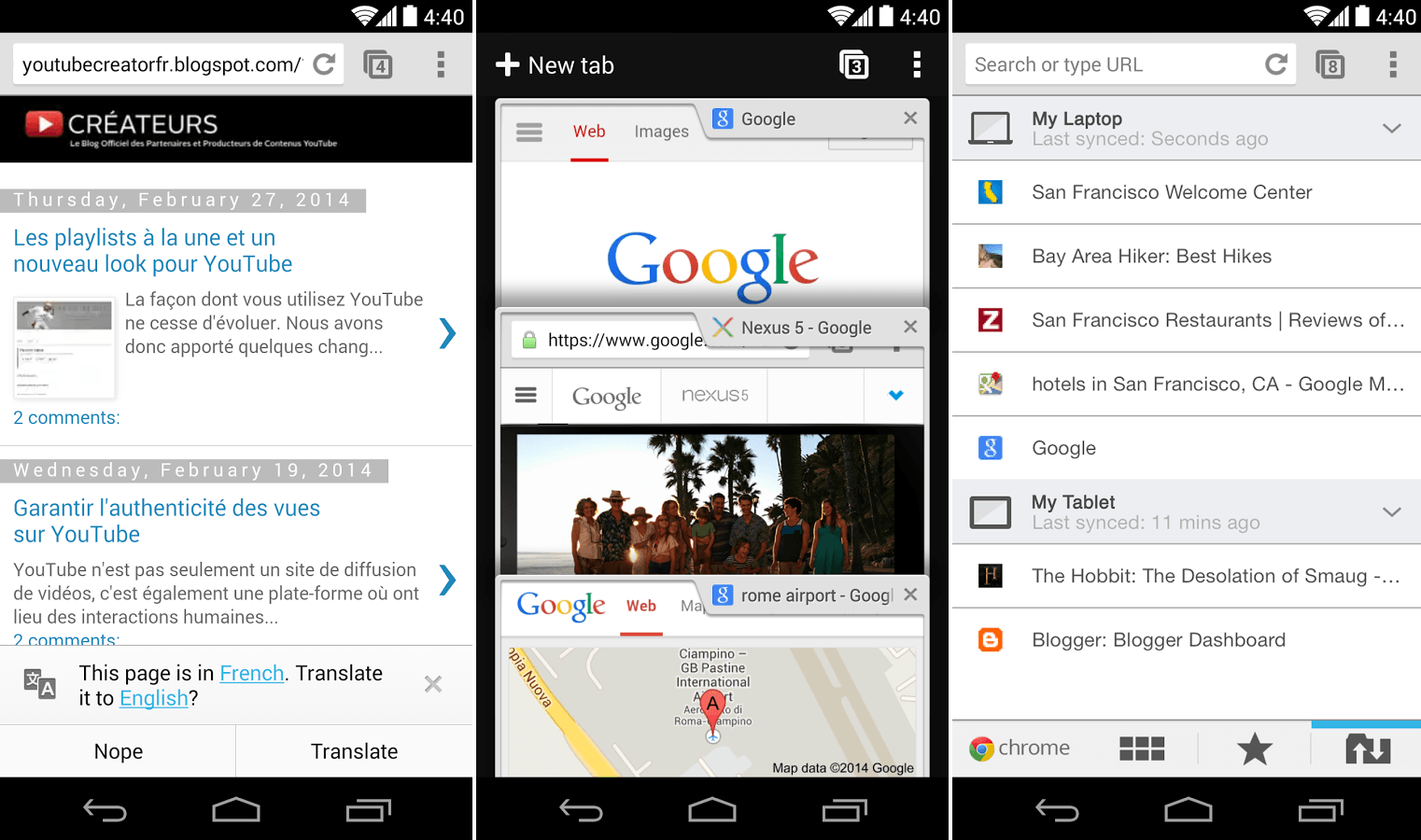 6 popular web browsers for android smartphone