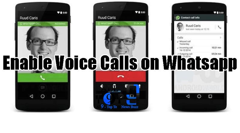 whatsapp voice calls