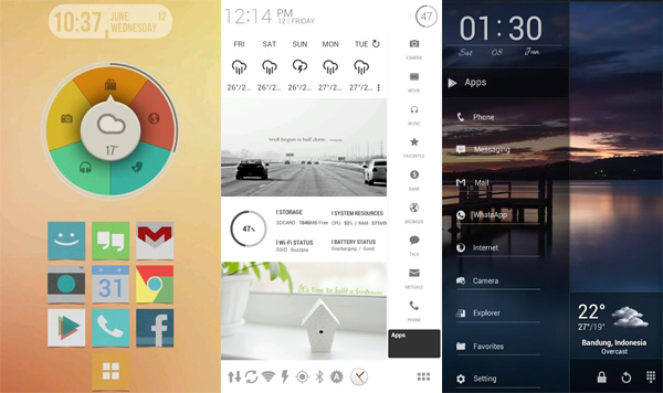 buzz best android launcher