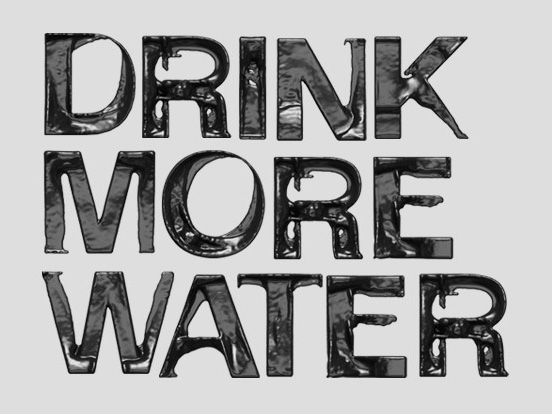 drink more water daily