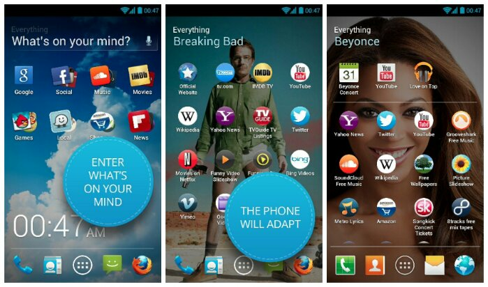 everythingme best android launcher