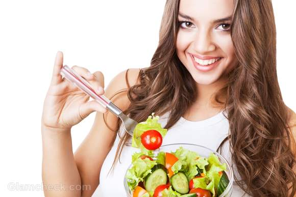 glowing skin with fruits & Vegetables