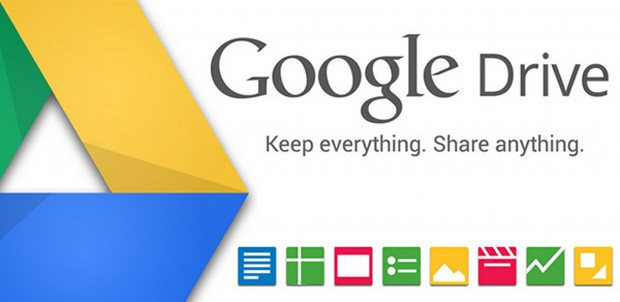 google-drive- on Android, iOS