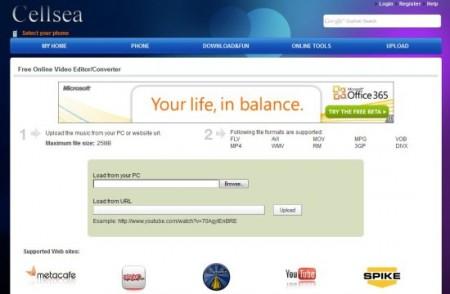 online video editor cellsea