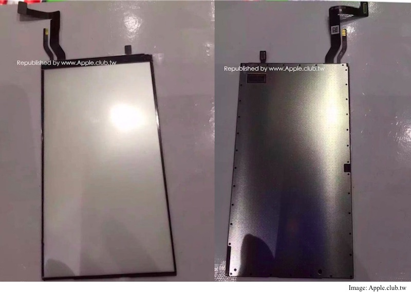 iphone 7 leaked display