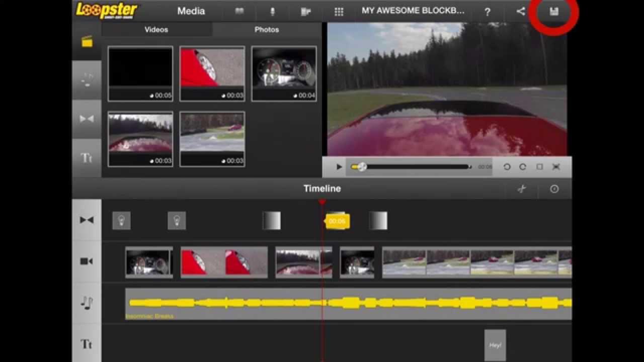 loopster online video editor