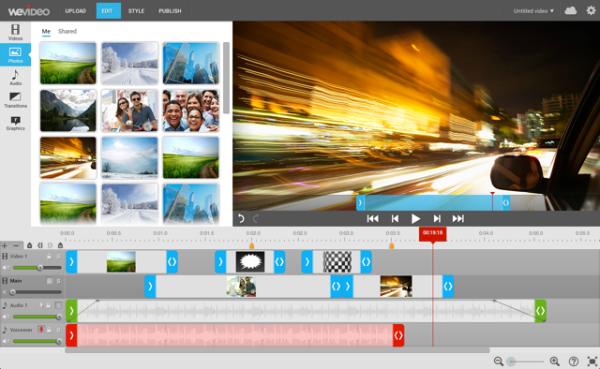 wevideo demo example