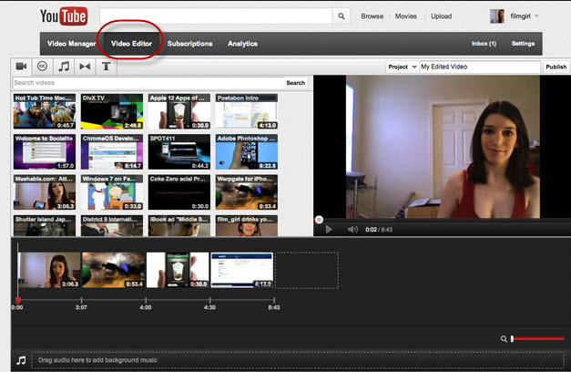 free online video editor free