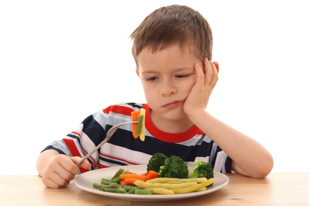 how to get my child eat vegetables