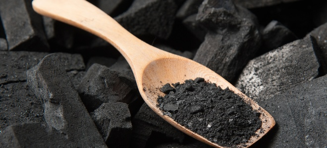 activated charcoal to purify air