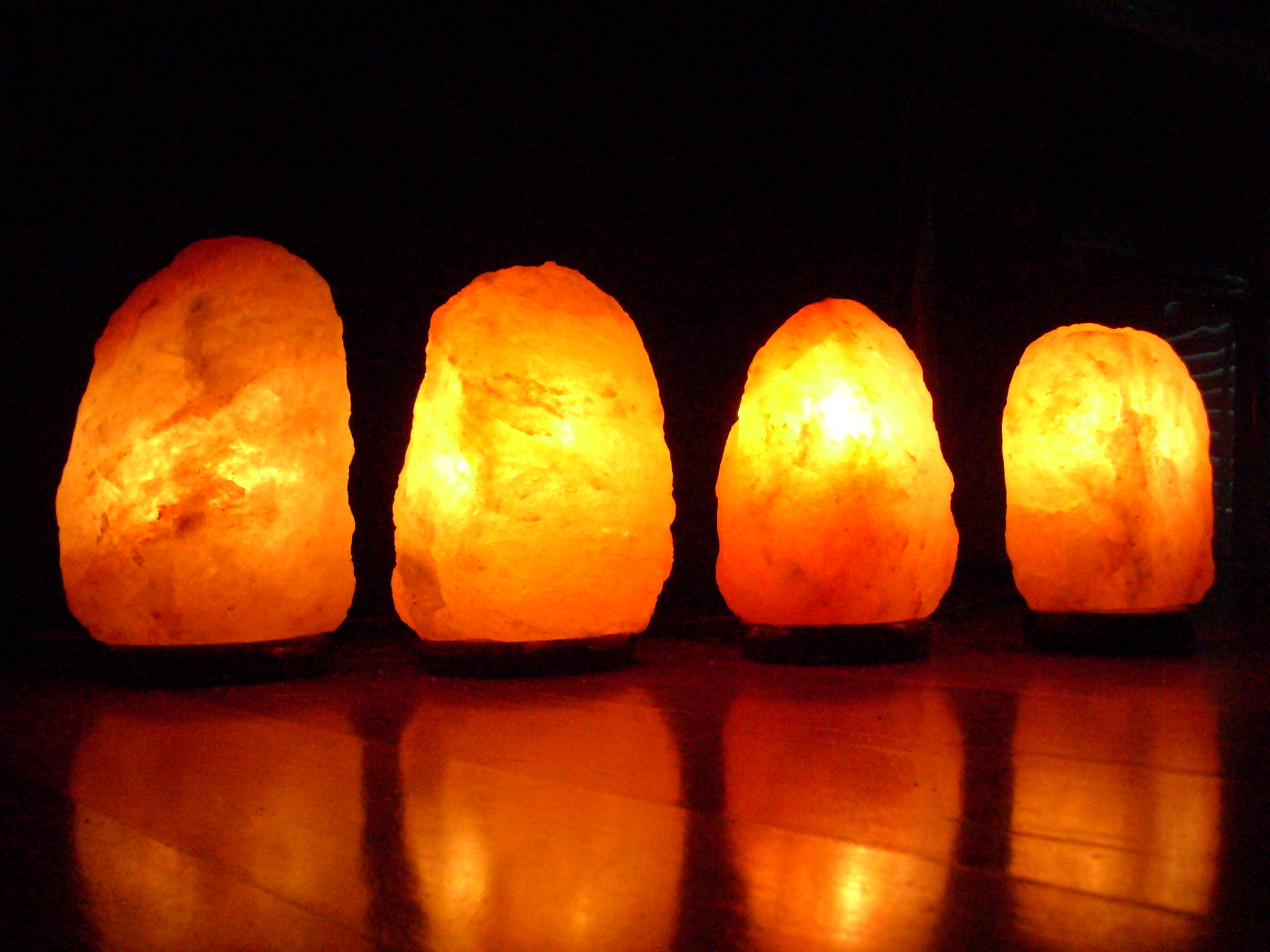 salt lamps to purify air