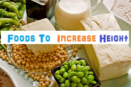 foods to increase height