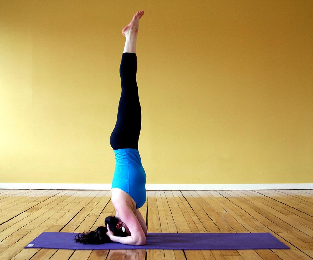 best yoga poses sirsasana