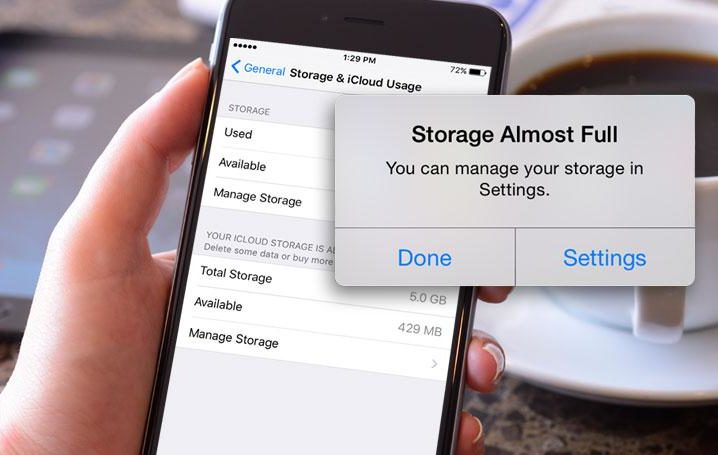 free up storage space on iphone