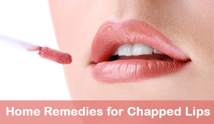 home remedies for dry chapped lips