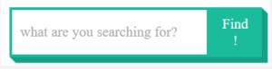 green unique blogger search box