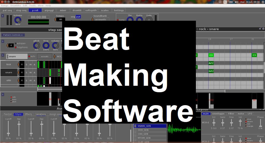 music Beat making software