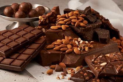 Dark Chocolate and Almonds