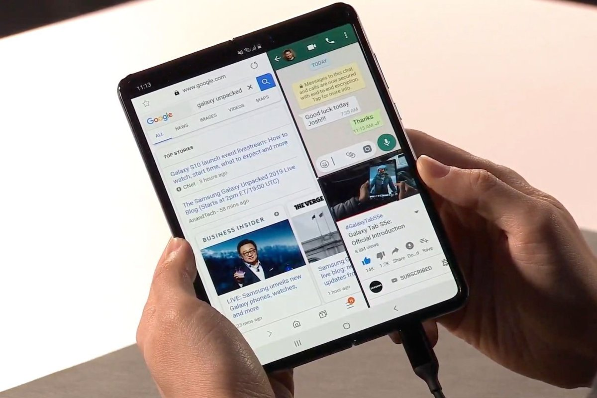 galaxy-fold-multi screen
