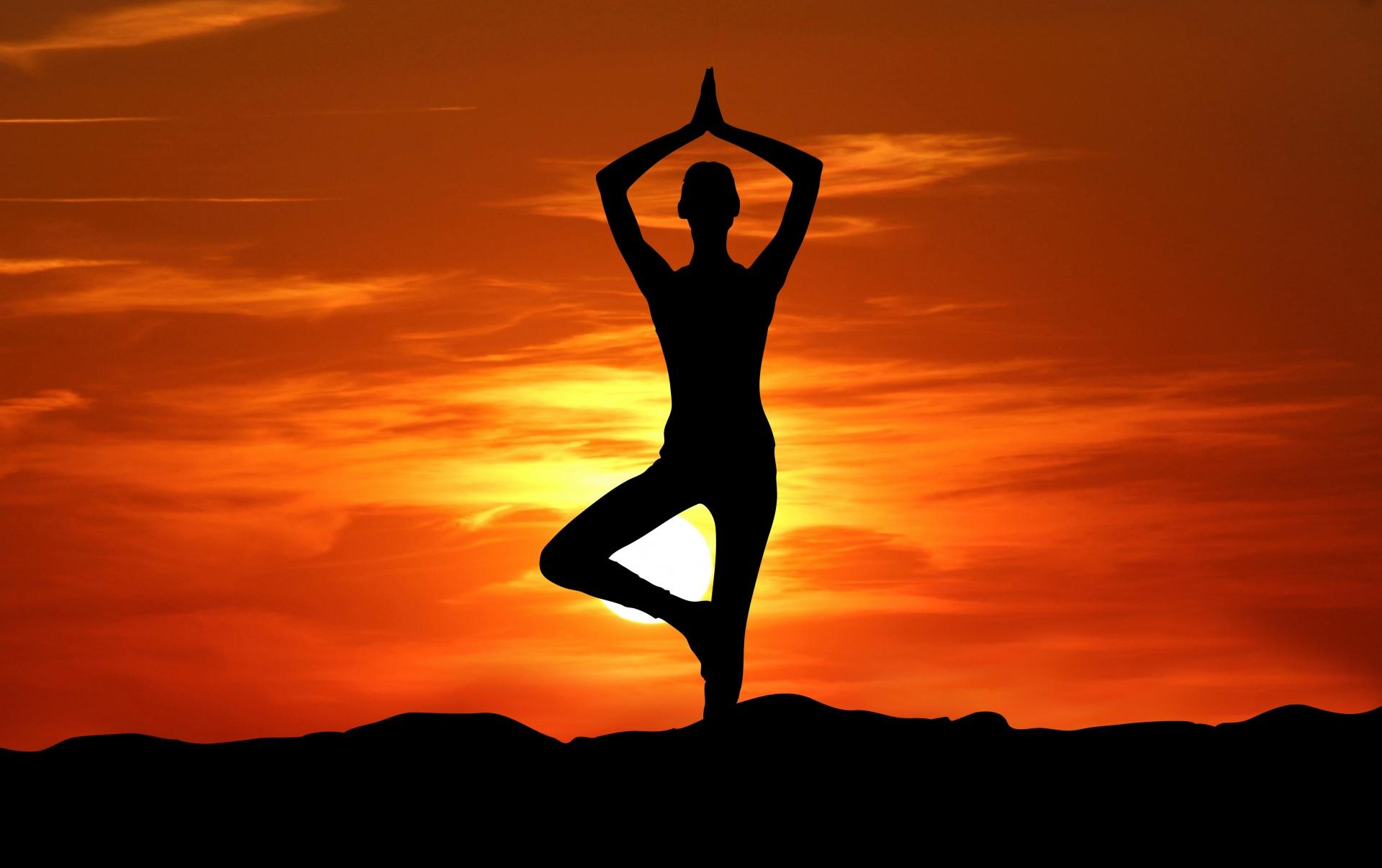 yoga helps to reduce stress