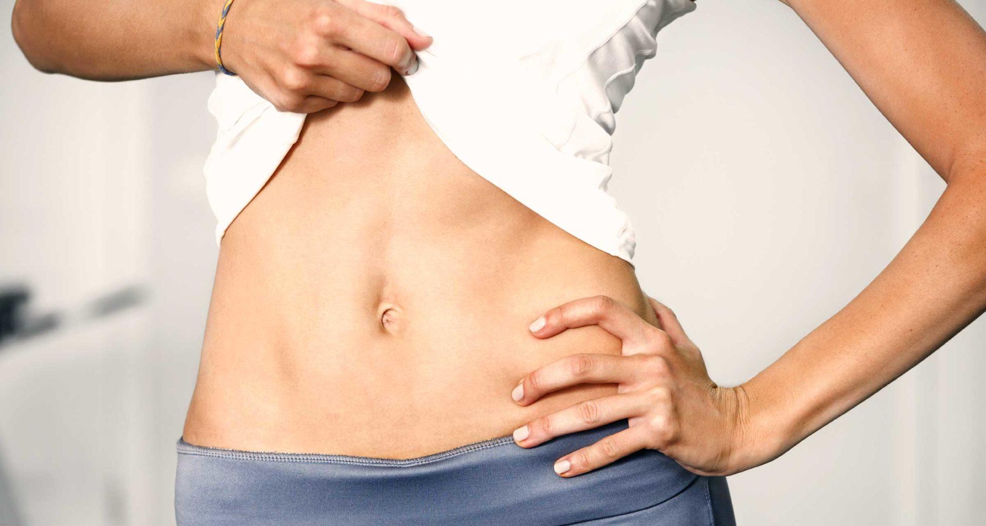 get flat tummy