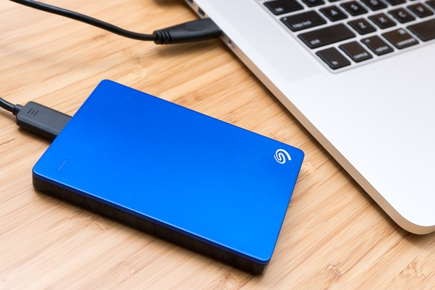 portable hard drive for storage