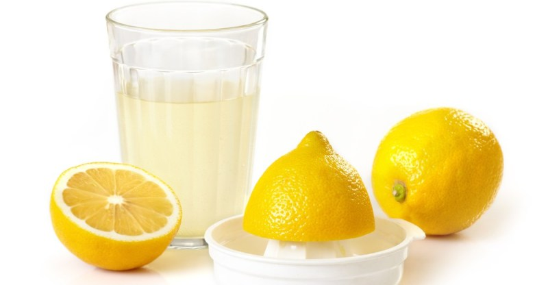 lemon juice for treating dark spots